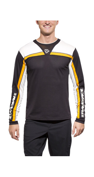 Race Face Stage Jersey Men black/orange